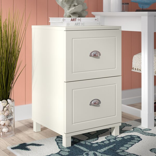 Orange City 2 Drawer Filing Cabinet by Beachcrest Home