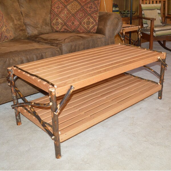 Donte Coffee Table With Tray Top By Loon Peak
