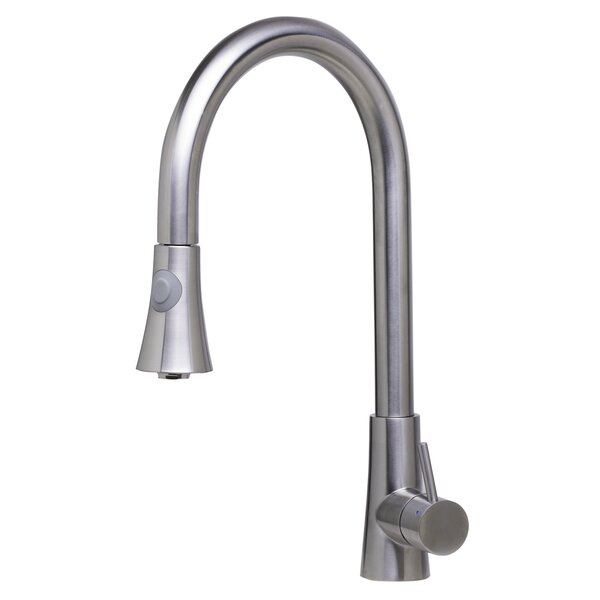 Pull Down Single Handle Kitchen Faucet by Alfi Brand