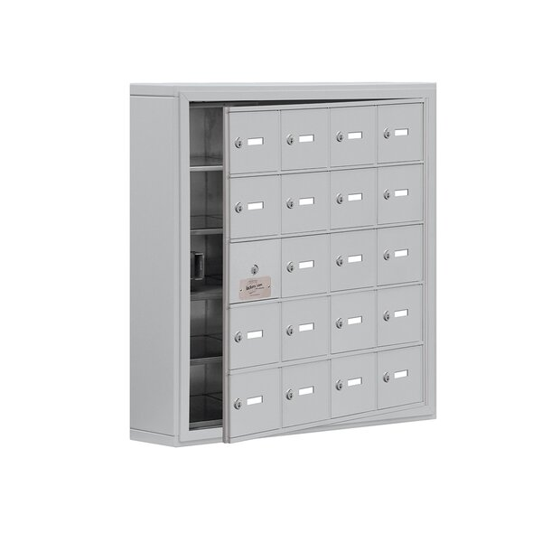 5 Tier 4 Wide EmpLoyee Locker by Salsbury Industries