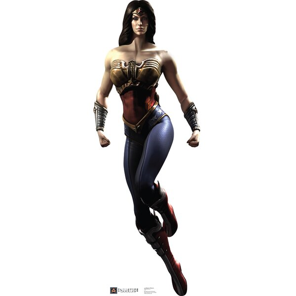 Wonder Woman - Injustice DC Comics Game Cardboard Standup by Advanced Graphics