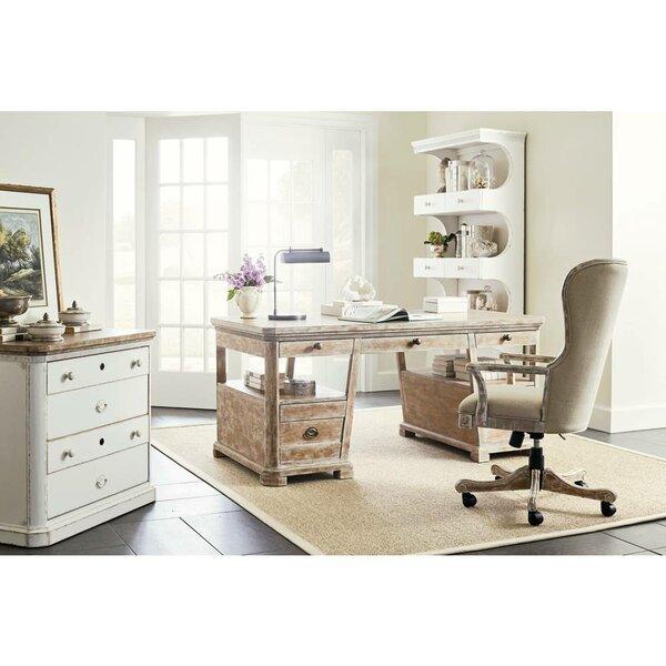 Juniper Dell 5 Piece Desk Office Suite by Stanley Furniture
