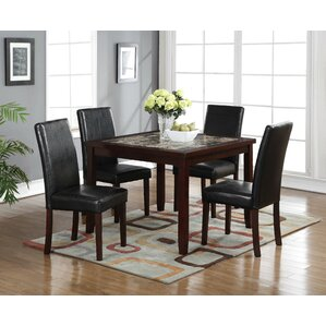 Catherine 5 Piece Pub Table Set by Red Barrel Studio