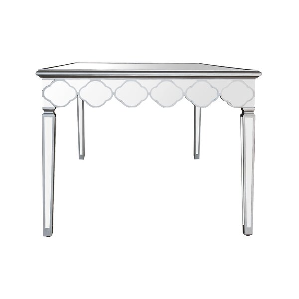Naccarato Mirrored Dining Table by House of Hampton