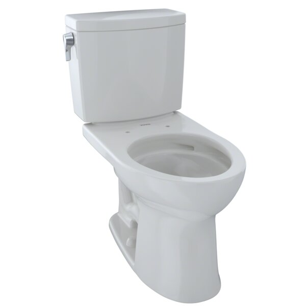 Drake® II 1 GPF Elongated Two-Piece Toilet by Toto