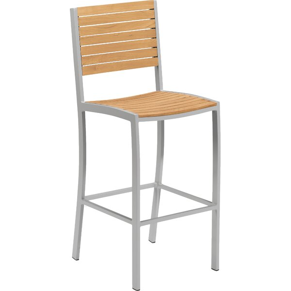 Farmington 31.76 Patio Bar Stool by Latitude Run