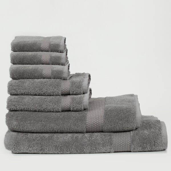 Al 7 Piece Turkish Cotton Bath Towel Set by Canora Grey