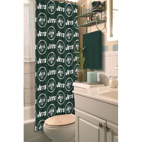 NFL Shower Curtain by Northwest Co.