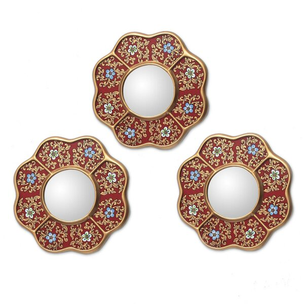 Gottschalk Peru New Spring Mirror Set (Set of 3) by Bloomsbury Market