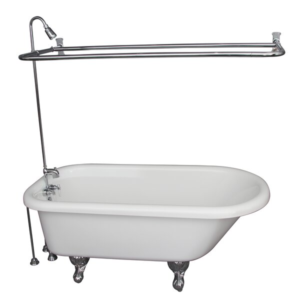 29.5 x 67 Soaking Bathtub Kit by Barclay