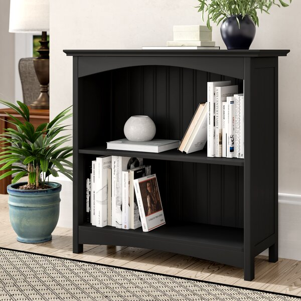 Herrin 2 Tier Standard Bookcase by Winston Porter