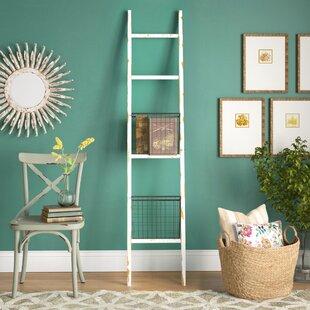 Comparison 6.5 ft Blanket Ladder ByLaurel Foundry Modern Farmhouse