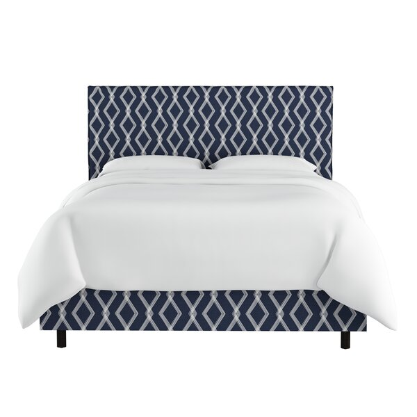 Edford Slipcover Crossweave Upholstered Standard Bed by Wrought Studio