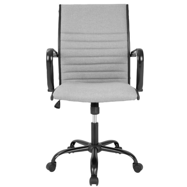 Alpharetta Mid-Back Desk Office Chair by Wade Logan