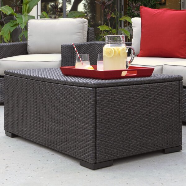 Laguna Wicker Coffee Table by Serta at Home