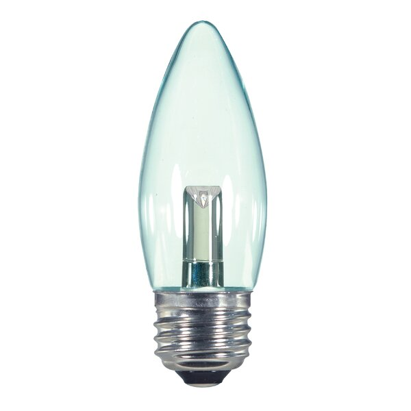 1W E26/Medium LED Light Bulb by Satco