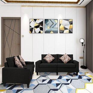 Harolene 2 Piece Living Room Set by Latitude Run®