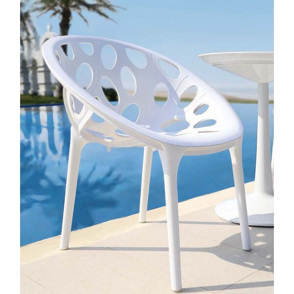 Loggins Outdoor Patio Chair (Set of 2) by Brayden Studio Brayden Studio