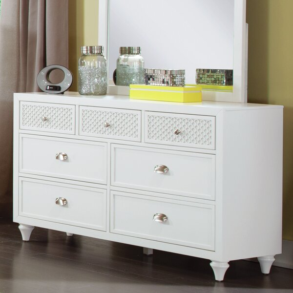 Amanda 7 Drawer Dresser by My Home Furnishings