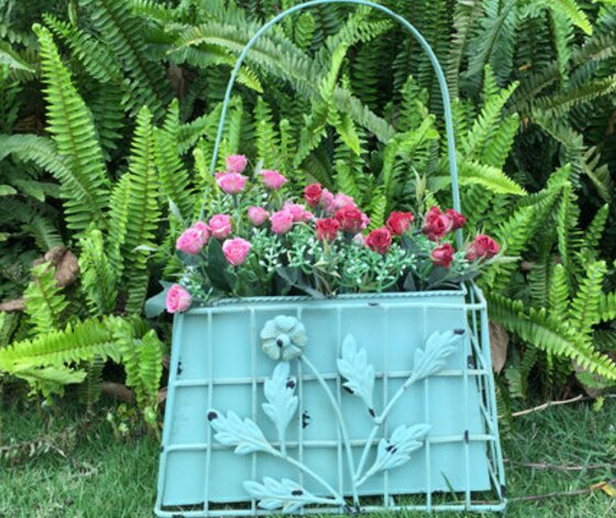 Basket Plant Stand by ES Essentials