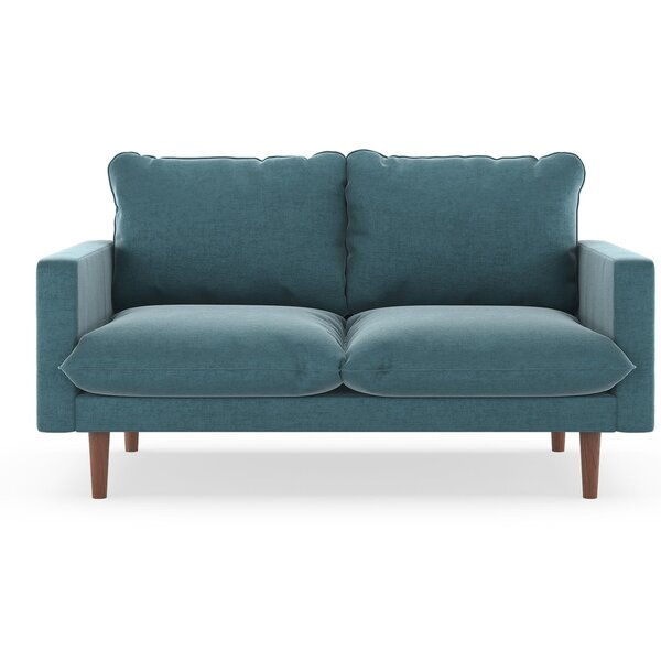 Free Shipping & Free Returns On Simon Mod Velvet Loveseat by Modern Rustic Interiors by Modern Rustic Interiors