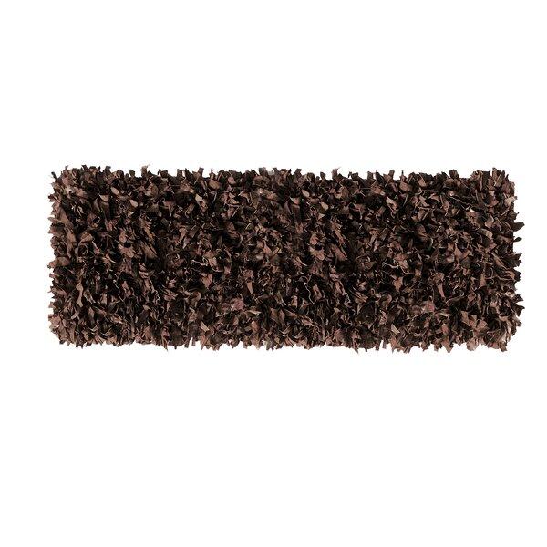 Handmade Dark Brown Area Rug by Ess Ess Exports