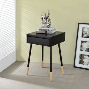 Backlund End Table by Mercury Row