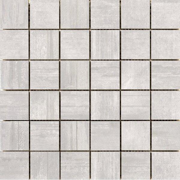 Hangar 2 x 2 Porcelain Mosaic Tile in Ash by Emser Tile