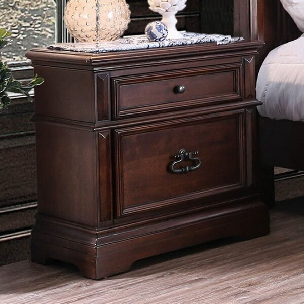 Dow 2 Drawer Nightstand by Astoria Grand