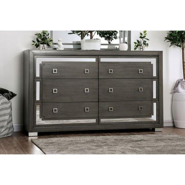 Beaupre 6 Drawer Dresser by Modern Rustic Interiors