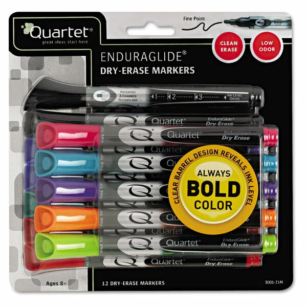 EnduraGlide Dry Erase Marker (Pack of 12) by Quartet®