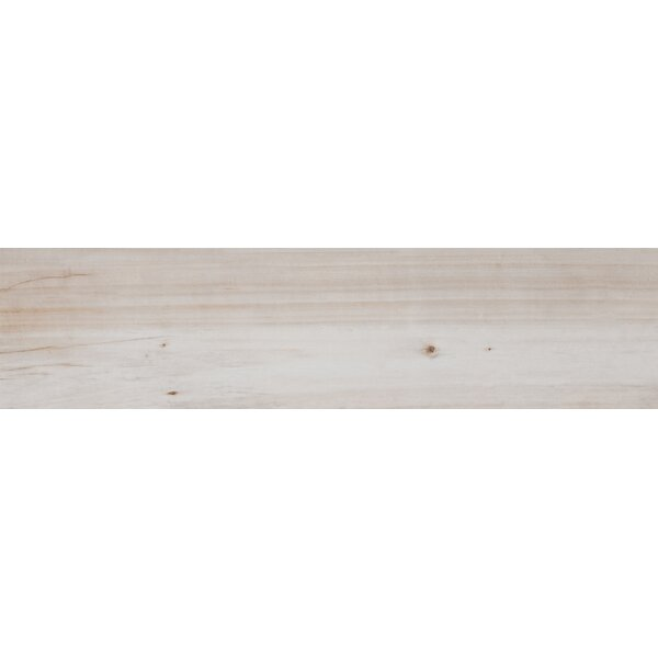 Havenwood 8 x 36 Porcelain Wood Look Tile in Beige by MSI