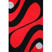 Geo Red Area Rug by Rug Factory Plus