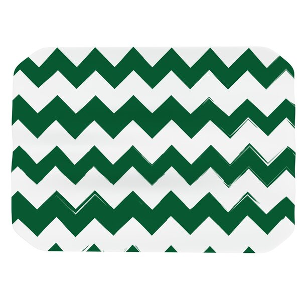 Candy Cane Chevron Placemat by East Urban Home