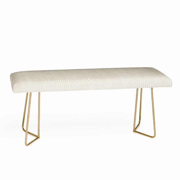 Holli Upholstered Bench By East Urban Home Coupon