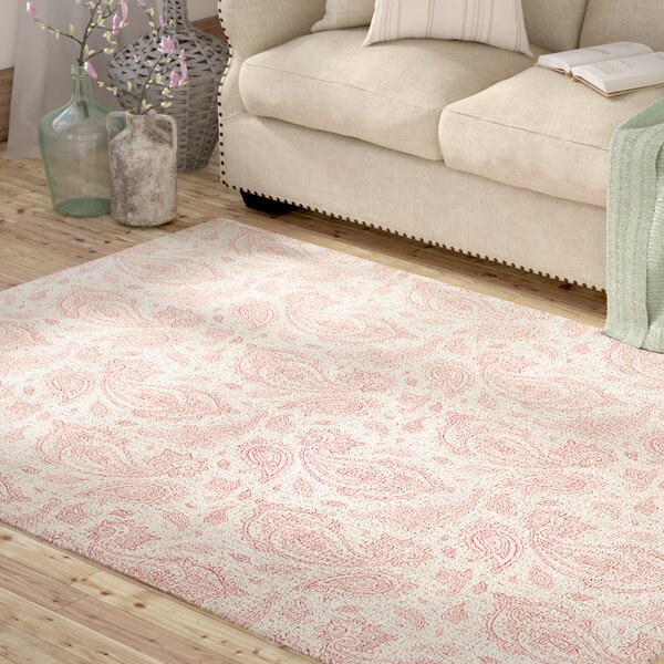 Saxatile Pink Area Rug by Lark Manor
