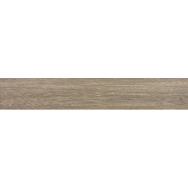 Vanderbilt 6 x 36 Porcelain Wood Look Tile in Brown by Parvatile