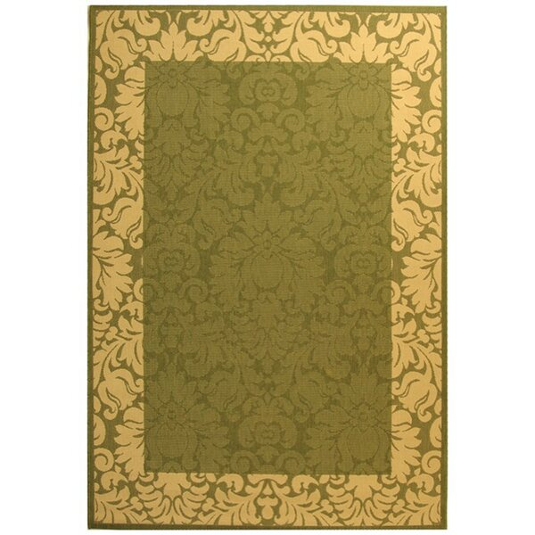 Marland Handwoven Flatweave Olive/Natural Indoor/Outdoor Area Rug by Charlton Home