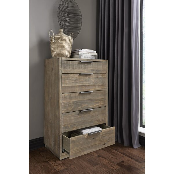 Scaggs 5 Drawer Chest by Gracie Oaks