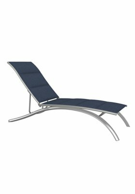 South Beach Reclining Chaise Lounge by Tropitone