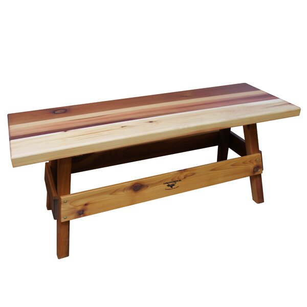 Ceder Wood Picnic Bench by Gronomics