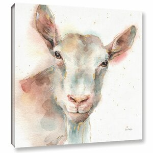 Farm Friends I Painting Print on Wrapped Canvas by Laurel Foundry Modern Farmhouse