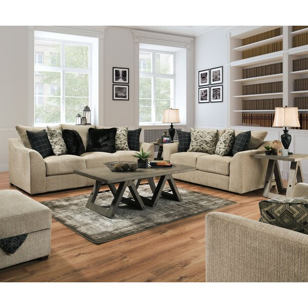 Callahan Configurable Sofa Set by 17 Stories