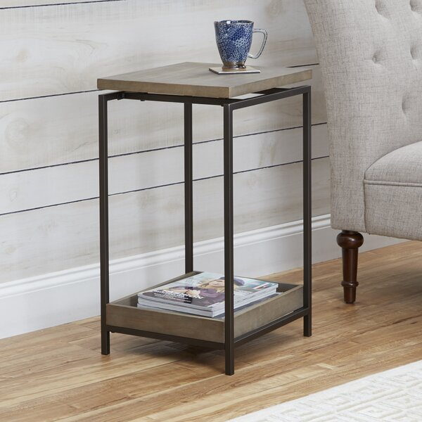 Camp End Table by Wrought Studio