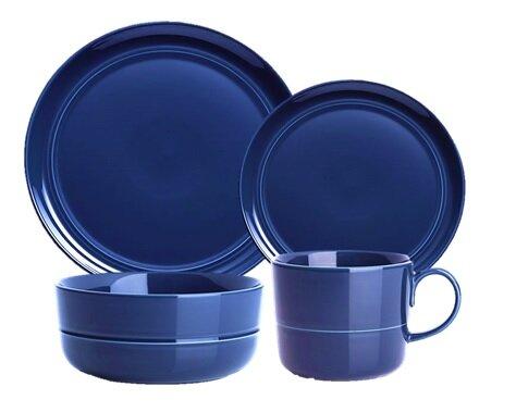 Edmonton Stoneware 16 Piece Dinnerware Set, Service for 4 by Breakwater Bay