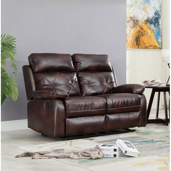 Swaney Reclining Loveseat by Winston Porter