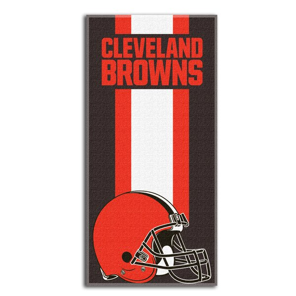 NFL Zone Read Beach Towel by Northwest Co.