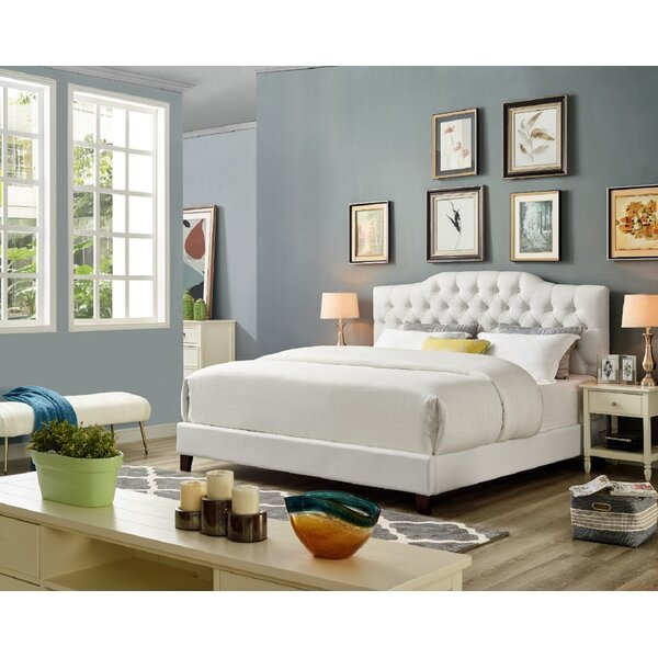 Lawrenceville Upholstered Platform Bed by Everly Quinn