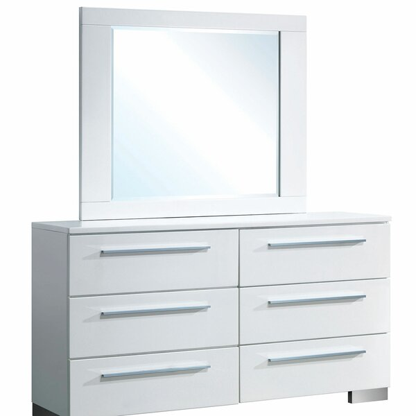 Fordland 6 Double Dresser with Mirror by Orren Ellis