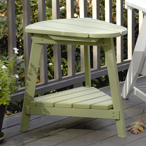 Carolina Preserves Wood Side Table by Uwharrie Chair